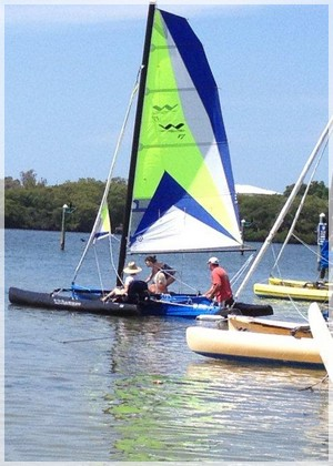 WindRider 17s at Bimini Bay Sailing, minutes from Bradenton and Sarasota